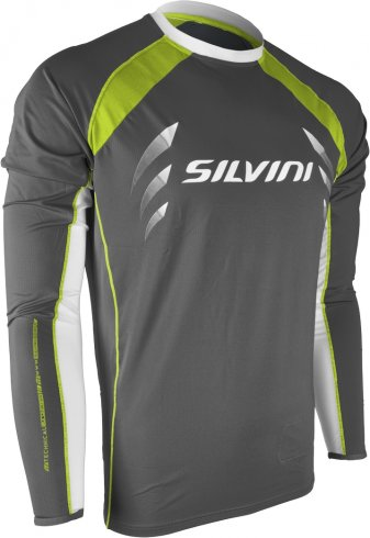 MTB dres SILVINI RENO MD609, charcoal-lime, XL