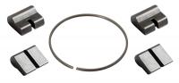 Západky do orechu Novatec (4ks) - MTB (nový typ)