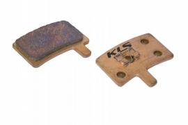 Brzdové platničky KLS D-05S, sintrované (pár)