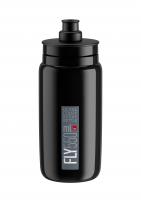 Fľaša Elite FLY čierna šedé logo, 550 ml