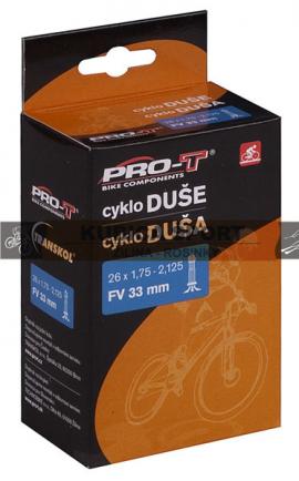 Duša PRO-T 700x18-23C FV 33mm v krabičke