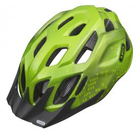 Prilba ABUS MOUNTX, Apple Green, M (53 - 58 cm)