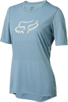 Fox Wmns Ranger Ss Jersey, light blue