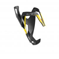 Košík VICO CARBON, čierno/žlto matný