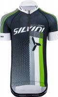 SILVINI Team KIDS CD842K, black-green, 146 - 152