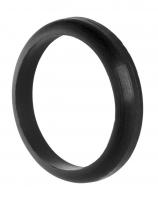 Prachovka sedlovky FORCE 31,6 mm, silikónová, čierna