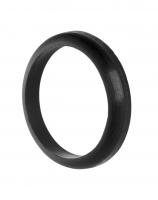 Prachovka sedlovky FORCE 27,2 mm, silikónová, čierna