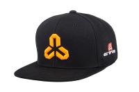 Šiltovka CTM, Snapback, červeno/oranžové logo