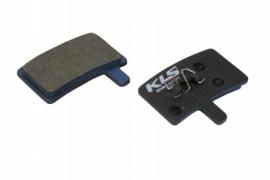 Brzdové platničky KLS D-05, organické (pár)