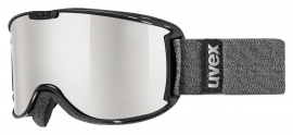 UVEX skyper LM black/mirror silver, S3, veľ. S