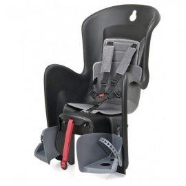Detská sedačka POLISPORT BILBY, 5 bodová, na nosič, čierna/sivá