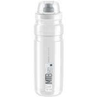 Fľaša ELITE Fly MTB 0,75l, číra, šedé logo