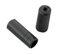 Kocovka radiaceho bowdenu 4 mm, plastová, čierna