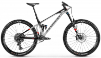 "Mondraker Superfoxy R 29"" 2021 silver/black/red"
