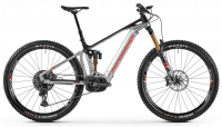 "Mondraker Crafty RR 29"" 2021 silver/black/red"