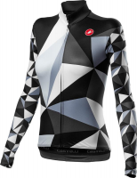 Cyklistický dres Castelli 20561 TRIANGOLO MID, black