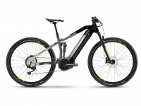 Haibike FullNine 6 2021, urban grey/ink
