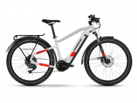 Haibike Trekking 7 2021, cool grey/red matte