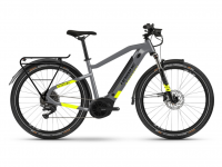 Haibike Trekking 6 2021, cool grey/red