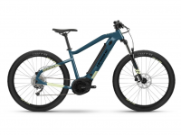 Haibike HardSeven 5 2021, blue/canary
