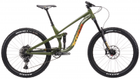KONA Process 153 27.5  2021 green/yellow