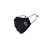 MUC-OFF REUSEABLE FACE MASK BLACK - L