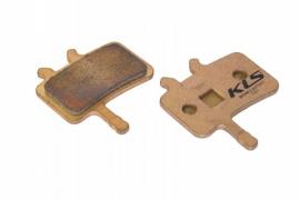 Brzdové platničky KLS D-02S, sintrované (pár)