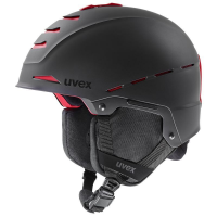 uvex legend pro black-red mat 55-59 cm
