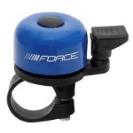 Zvonček FORCE MINI Fe/plast 22,2mm paličkový, modrý
