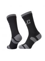XLC nepremokavé ponožky CS-W01, čierna/šedá, 47-49