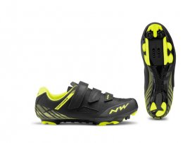 Tretry NORTHWAVE Origin, black/yellow fluo