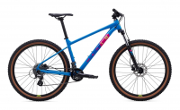 "Marin BOBCAT TRAIL 3 29"" 2021, gloss bright blue/dark blue/yellow/magenta"