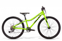 "AMULET Tomcat 24"" 2021, green fluo matt/black shiny"