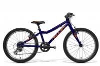 "AMULET Tomcat 20"" 2021, dark blue metalic/orange shiny"
