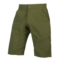 ENDURA HUMMVEE LINE SHORT WITH LINER, Olive Green