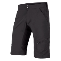 ENDURA HUMMVEE LINE SHORT WITH LINER, Black
