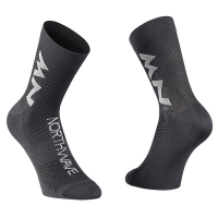 Northwave Extreme Air Mid Sock, black/gray