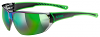 UVEX sportstyle 204, black green, (S3)