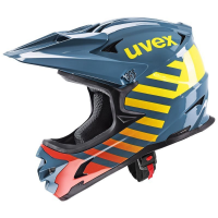 UVEX HLMT 10 BIKE, blue fire