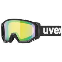 UVEX ATHLETIC CV, black mat/green - cv yellow