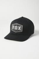 Pánská čepice Fox Emblem Flexfit Hat Black L/XL