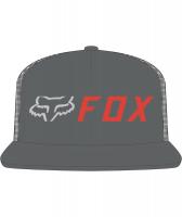 Šiltovka FOX Apex Snapback Hat, grey/oragne, OS