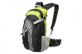 Batoh HUNTER, black/green, 15 L