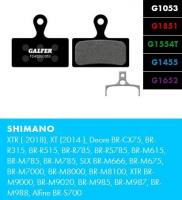 Brzdové platničky GALFER FD487 - Magura
