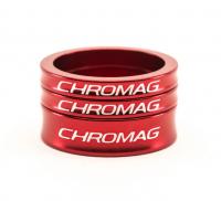 Podložky pod predstavec CHROMAG, red