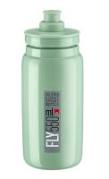 Fľaša ELITE Fly 0,55l, Zelená Bianchi, šedé logo
