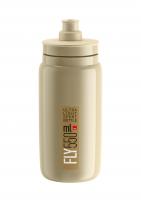 Fľaša ELITE Fly 0,55l, béžová, hnedé logo