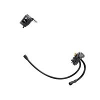 Držiak batérie STEPS BTE8035/E8036, do rámu, bez zámku, s káblom 250 mm, čierny